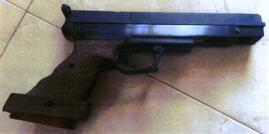 Pistola de aire comprimido Gamo