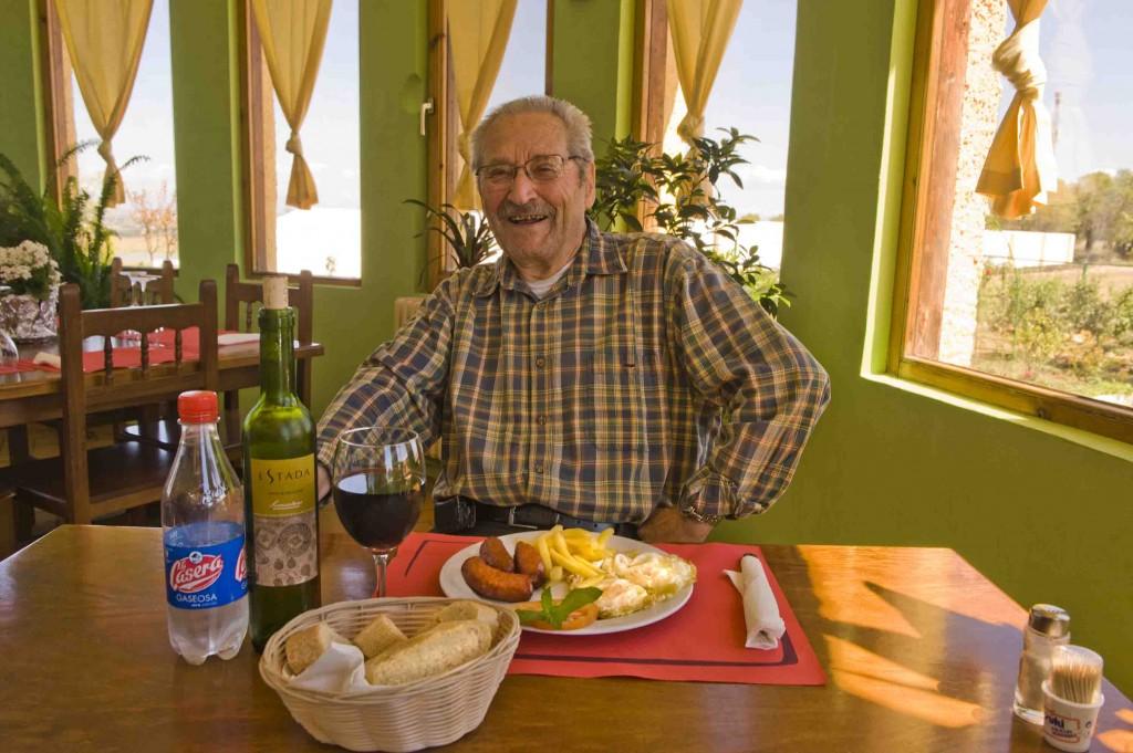 Almorzando con Julio Galo