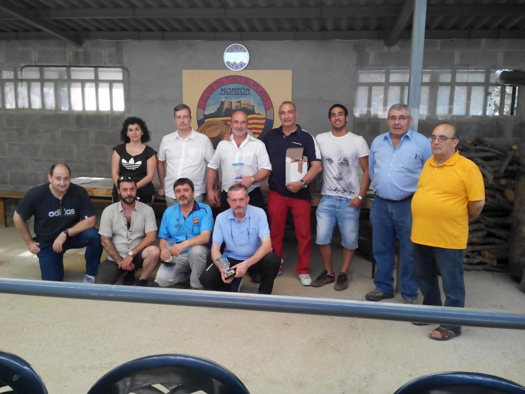 PARTICIPANTES CAMPEONATO DE ARAGON PISTOLA STANDARD