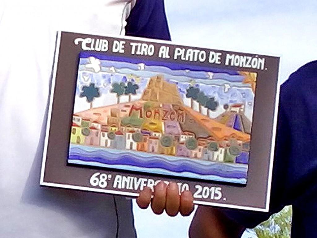 PLACA CONMEMORATIVA DE LA TIRADA ANIVERSARIO