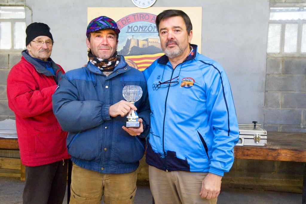 CLUB DE TIRO AL PLATO MONZON LUIS MONTANER SUBCAMPEON PROVINCIAL DE AIRE COMPRIMIDO 2016