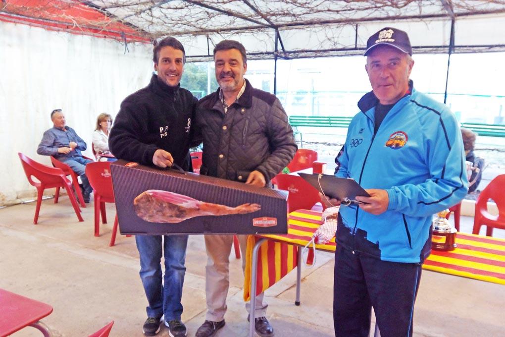 CLUB DE TIRO AL PLATO DE MONZON JOSE LUIS AGUARON CAMPEON DE LA TIRADA FINAL DE PRIMAVERA