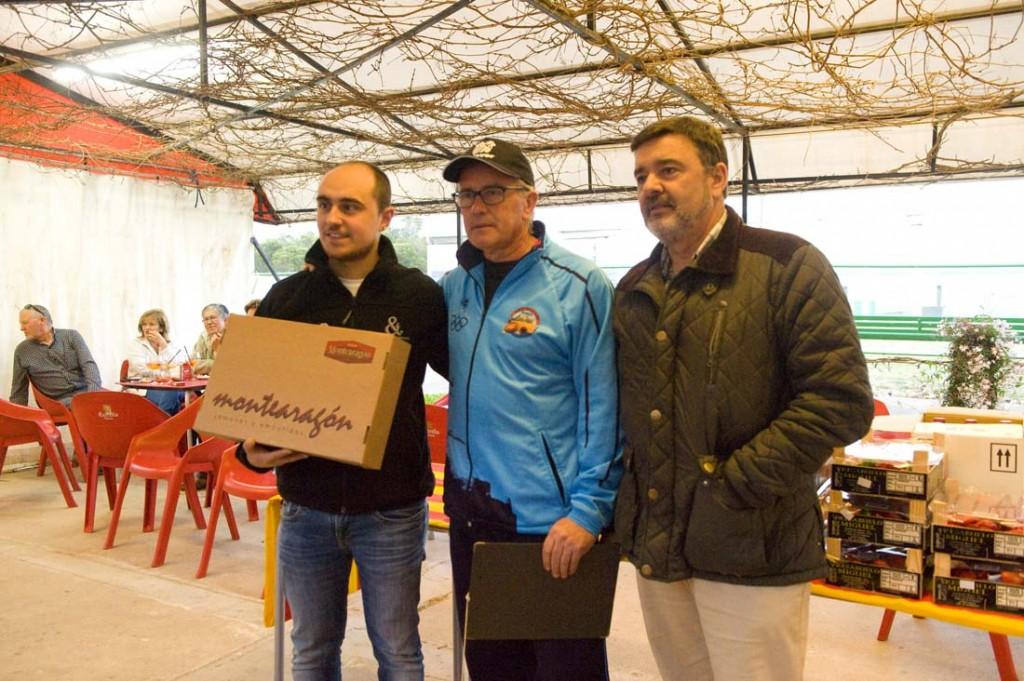 CLUB DE TIRO AL PLATO DE MONZON OSCAR SANJUAN TERCER PREMIO DE LA TIRADA FINAL DE PRIMAVERA