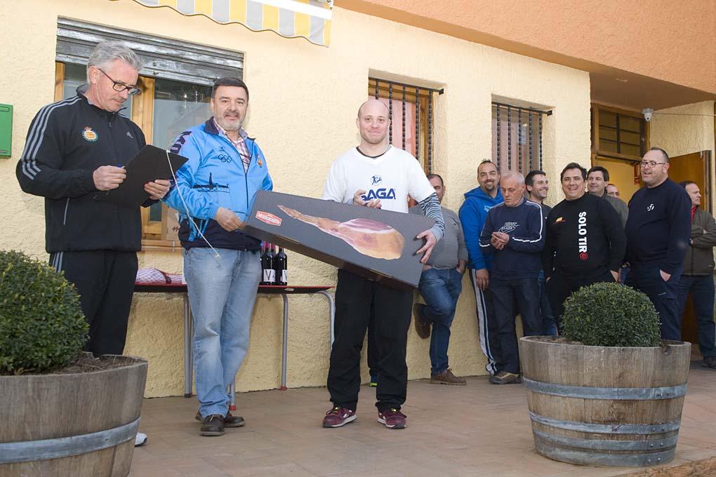CLUB DE TIRO AL PLATO MONZON OSCAR MUR CAMPEON DE LA SEGUNDA DE PRIMAVERA