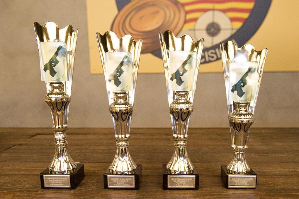 CLUB DE TIRO AL PLATO MONZON TROFEOS DE LA FINAL DEL CAMPEONATO DE INVIERNO