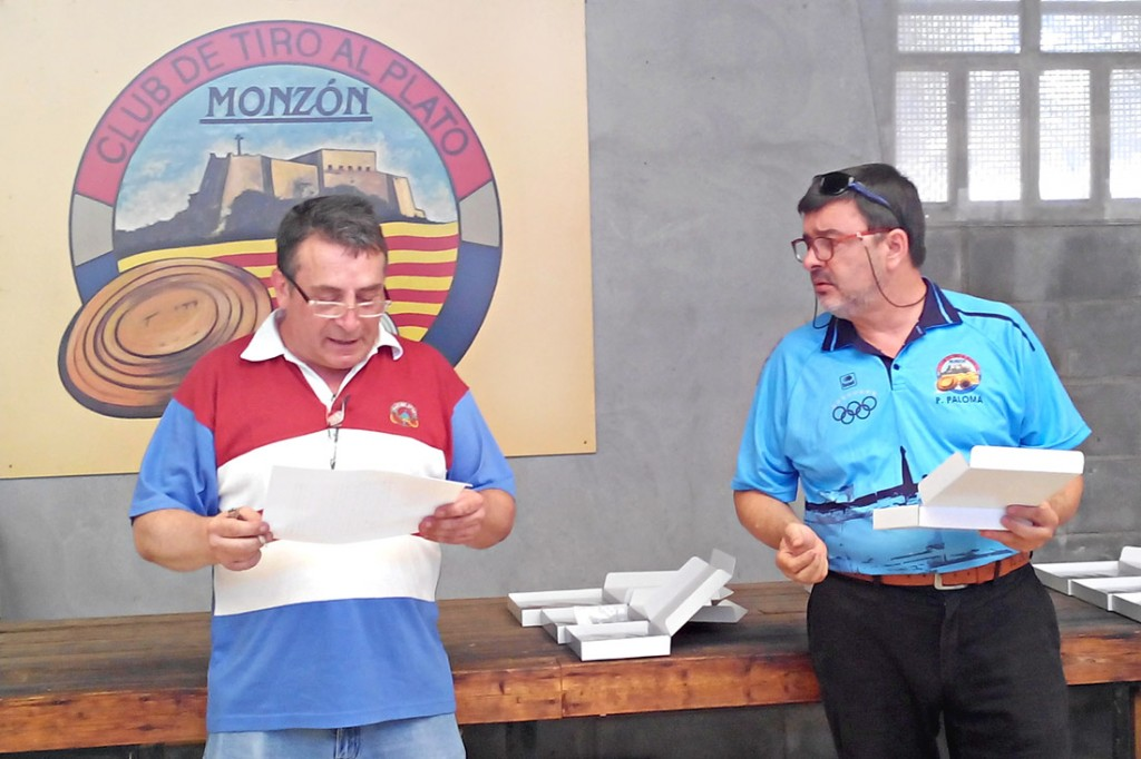 PEDRO PALOMA CAMPEON DE ARAGON DE VETERANOS DE FUEGO CENTRAL Y PISTOLA DEPORTIVA