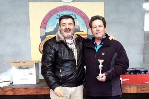 CLUB DE TIRO MONZON RICARDO GUILLEN TERCER CLASIFICADO DE LA TIRADA DE REYES