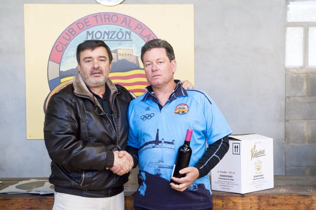 RICARDO GUILLEN TERCER CLASIFICADO DE LA PRIMERA FASE DEL CAMPEONATO DE INVIERNO CLUB DE TIRO MONZON