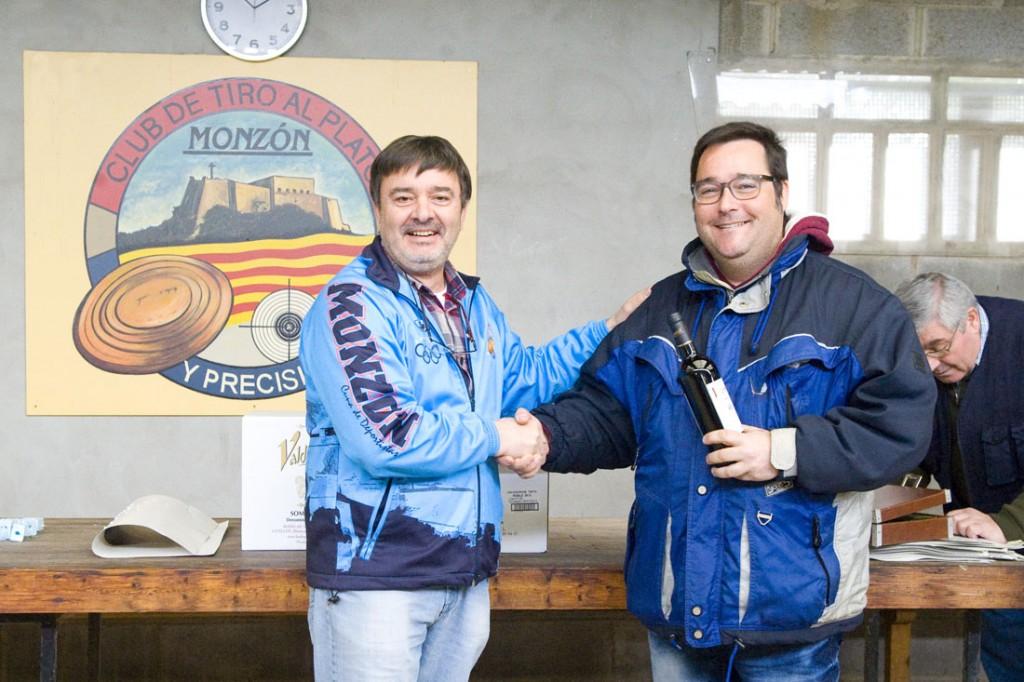 CLUB DE TIRO AL PLATO MONZON MARTIN MORALES SUBCAMPEON SENIOR EN LA TIRADA SOCIAL DE CARABINA