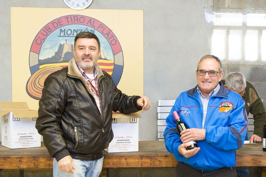 CLUB DE TIRO AL PLATO MONZON LUIS CASTRO TERCER PREMIO DE VETERANOS DE LA SEGUNDA SOCIAL DE CARABINA
