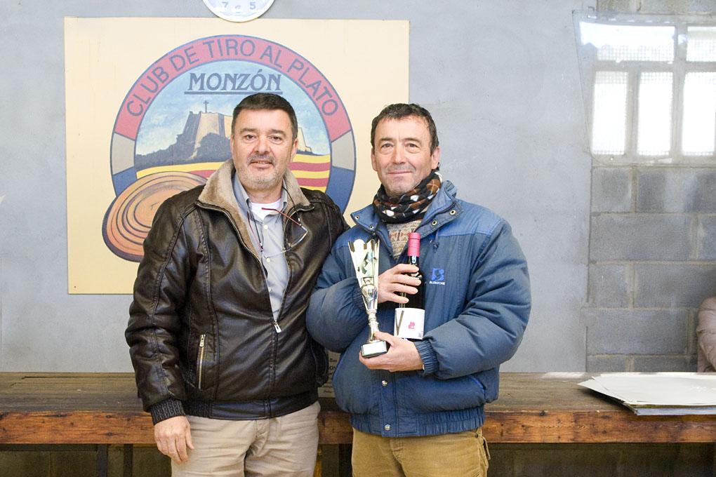 CLUB DE TIRO AL PLATO MONZON LUIS MONTANER GANADOR DEL CAMPEONATO DE INVIERNO