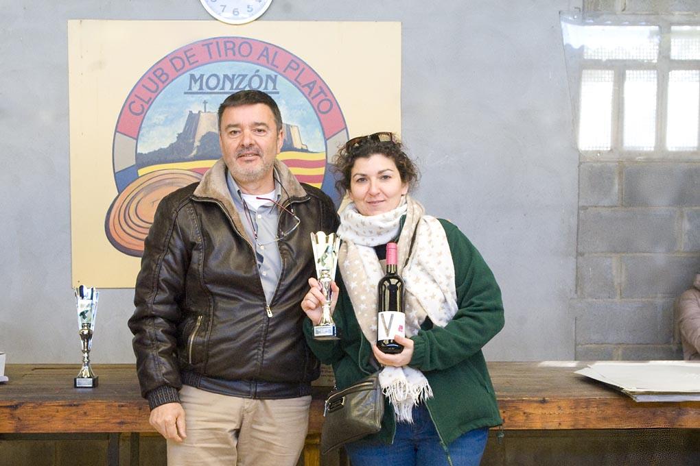 CLUB DE TIRO AL PLATO MONZON NINES BARCELONA CAMPEONA DE DAMAS DEL CAMPEONATO DE INVIERNO