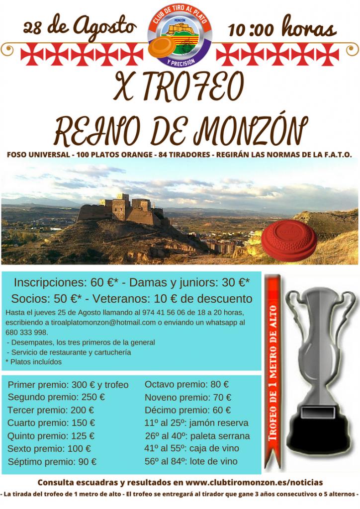 X Trofeo Reino de Monzón